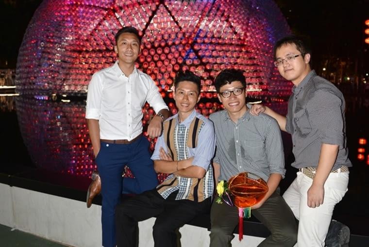 Pawilon Rising Moon w Hong Kongu - zespół projektowy