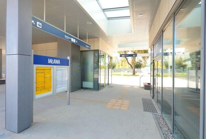 Nowy Dworzec systemowy w Mławie