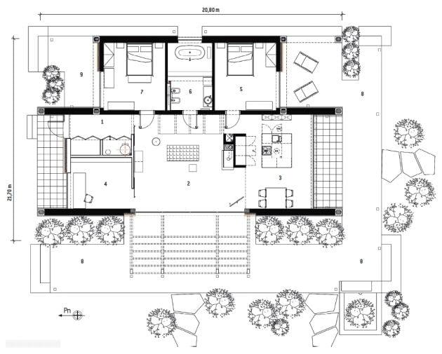 plany domu, rzuty domu, projekty domów, dom jednorodzinny