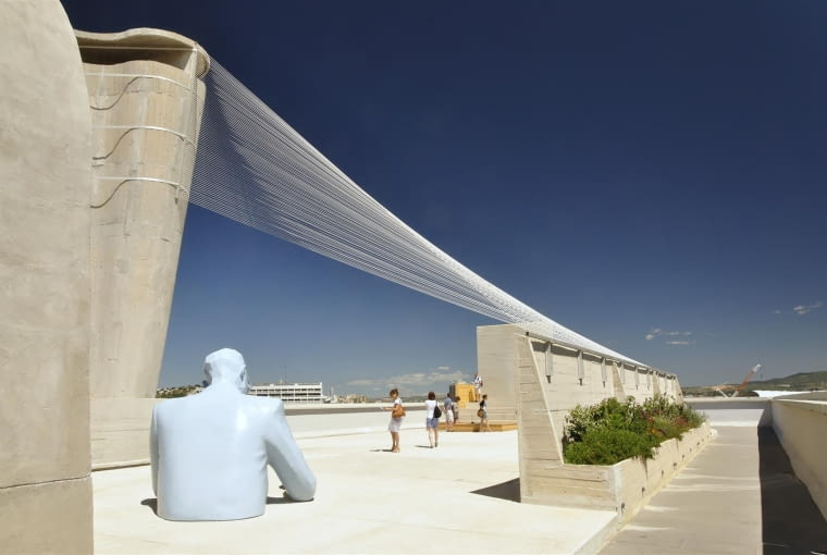 Jednostka Marsylska, proj. Le Corbusier - teatr na tarasie dachowym