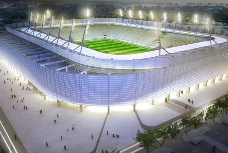 Stadion Miejski w Lublinie zaprojektowała pracownia Estudio Lamela