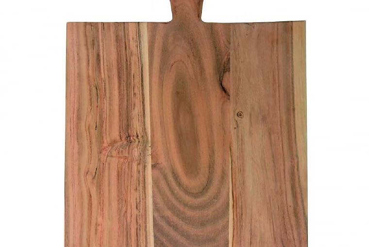 Deska do krojenia, drewno akacjowe, 21 x 44 cm, meble.pl - 83 zł