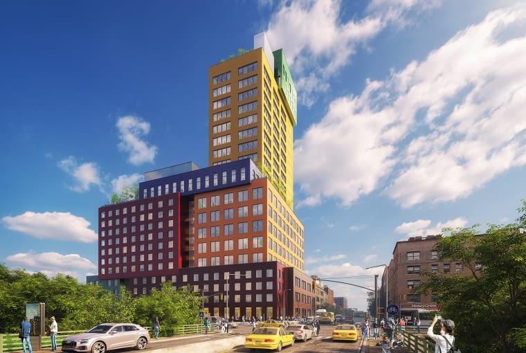 Radio Tower & Hotel w Nowym Jorku