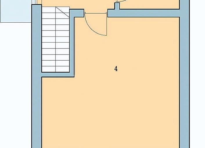 plany, dom jednorodzinny, piętro