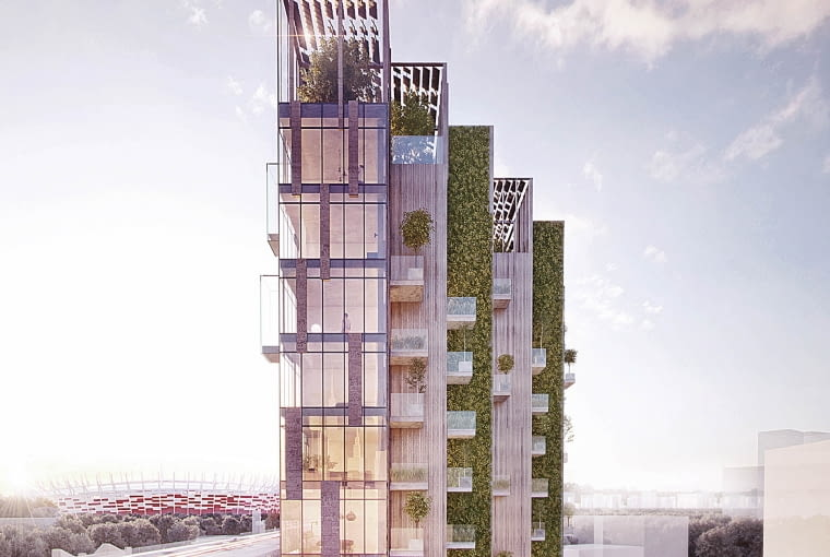 Eco Warsaw Tower
