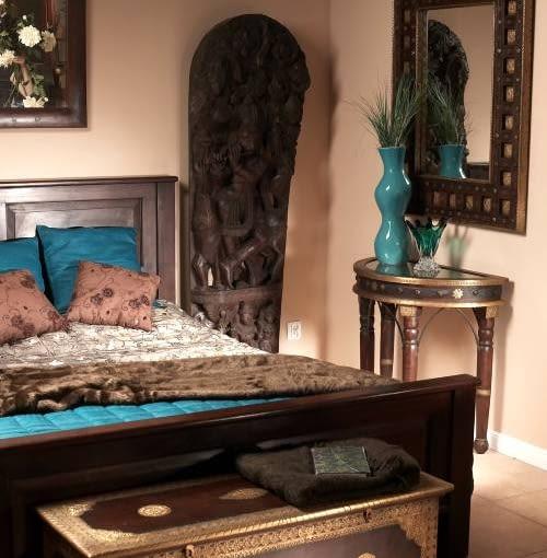 Sypialnie Egzotycznie Z Fantazją ładny Dom
