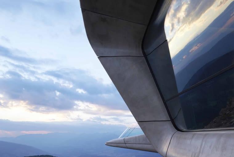 Messner Mountain Museum, Plan de Corones, Włochy, proj. Zaha Hadid Architects, nominacja w kategorii budynki zrealizowane, kultura.