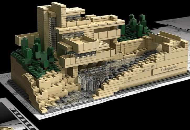 Architektura - zrób to sam - Frank Lloyd Wright - Fallingwater House
