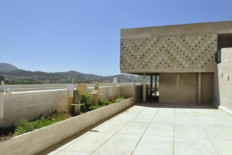 Jednostka Marsylska, proj. Le Corbusier - świetlica