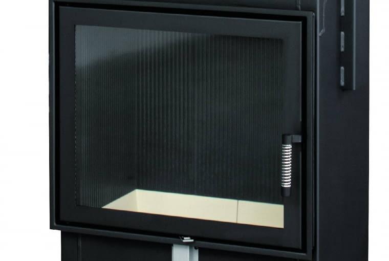 Arcadia Vita Frontale 60 SX/SPARTHERM | Znamionowa moc grzewcza: 11,5 kW | sprawność 80% | szerokość drzwi 628 mm, wysokość drzwi 533 mm | drzwi otwierane na bok. Cena: 4400 zł, www.spartherm.pl