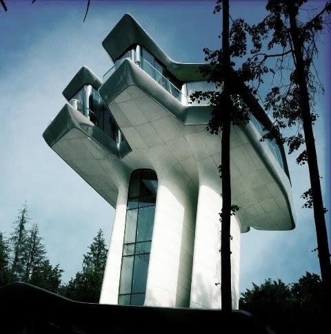 Willa zaprojektowana przez Zahę Hadid w Barwice pod Moskwą