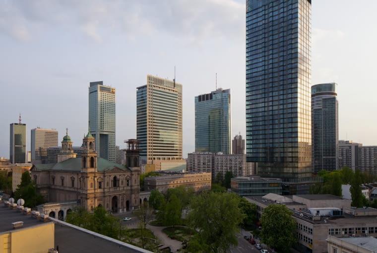 Wieżowiec Cosmopolitan w Warszawie, więcej zdjęć na www.a-pk.pl