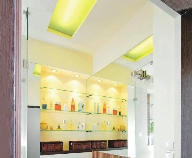 Łazienka, oświetlenie
