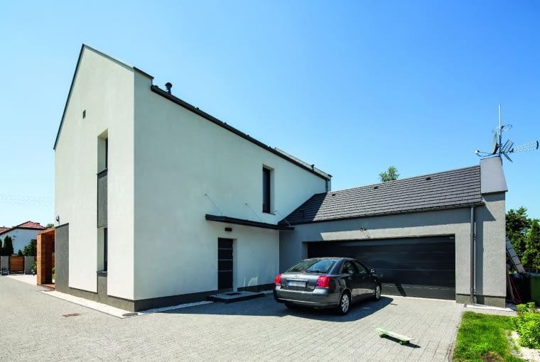 dom nowoczesny, dom pasywny, tynk