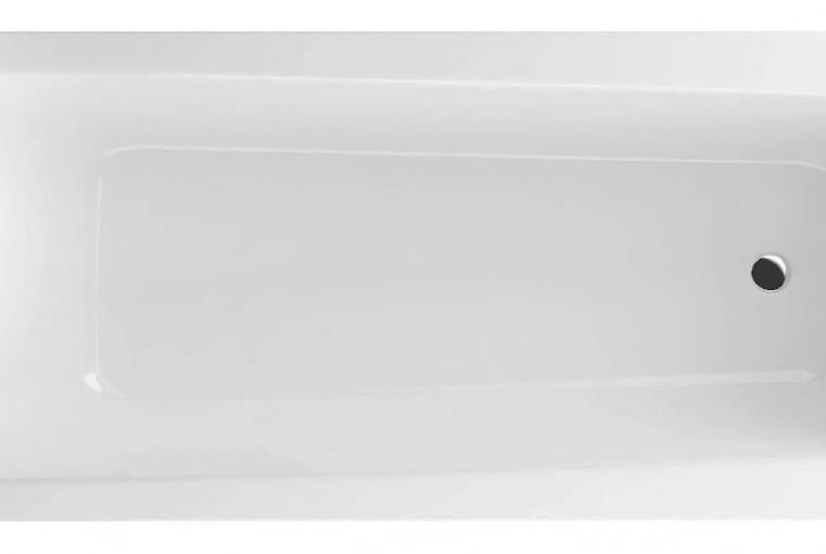 Ava/EXCELLENT. Wanna z akrylu sanitarnego o prostej linii zewnętrznej; wymiary: 1700 x 705 mm. Cena: 798 zł, www.excellent.com.pl