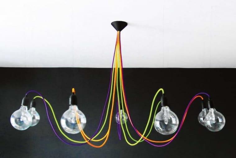 Lampa MEDUSA, szkło i tworzywo sztuczne, 1280 zł, Cable Power