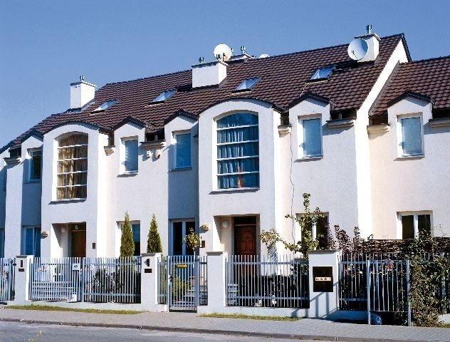 Domy w zabudowie szeregowej