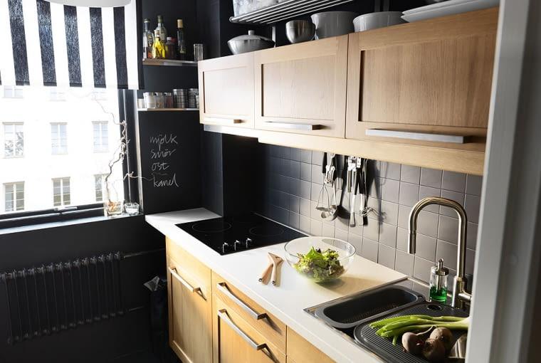 Mała kuchnia - IKEA