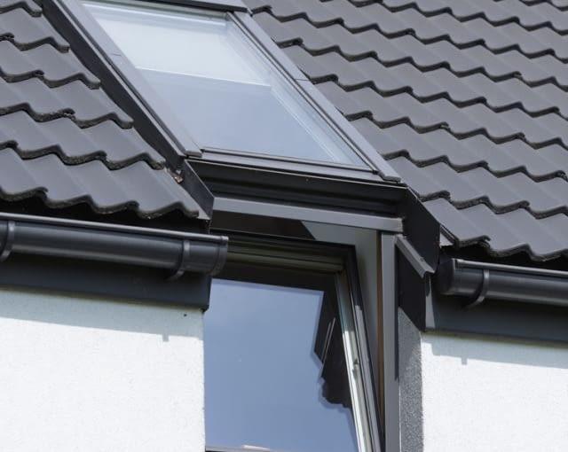 Okno pionowe i dachowe