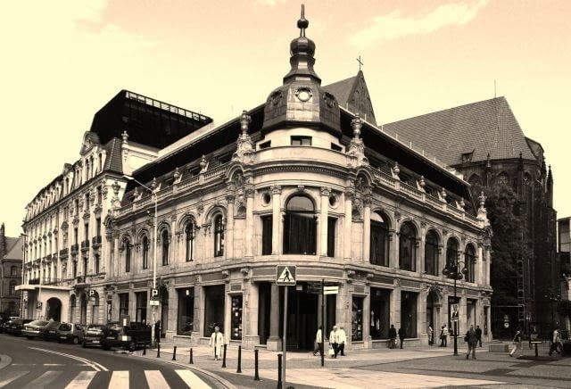 Neobarokowy hotel Monopol we Wrocławiu