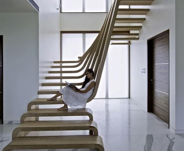 schody, projekty, drewniane schody