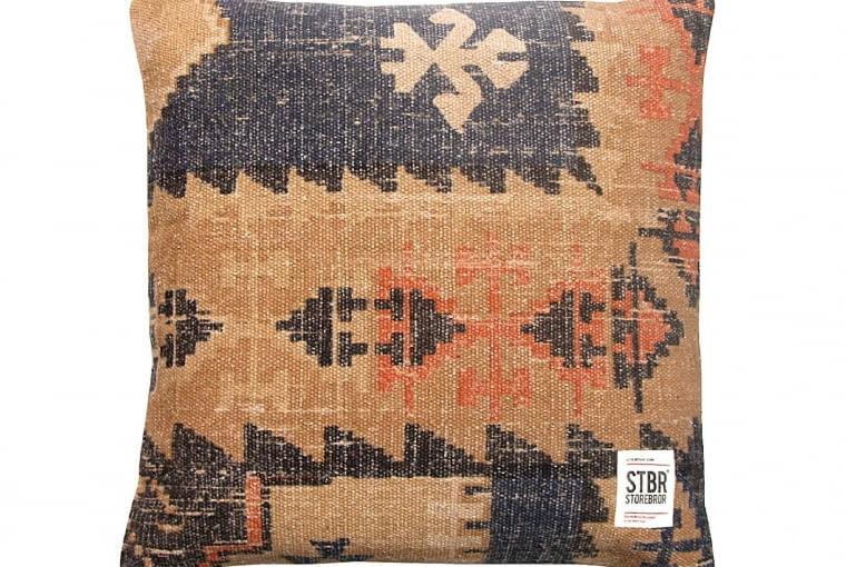 Poduszka VINTAGE, znadrukiem, bawełna, 50 x 50 cm, 218 zł, dutchhouse.pL