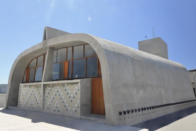 Jednostka Marsylska, proj. Le Corbusier - gimnazjum
