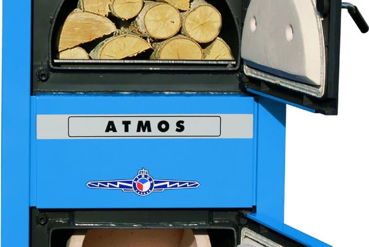 KOTŁY ZGAZOWUJĄCE DREWNO ATMOS DC/MORA; moc 15-22kW (wymiennik ciepła ze stali; Cena: 5475 zł