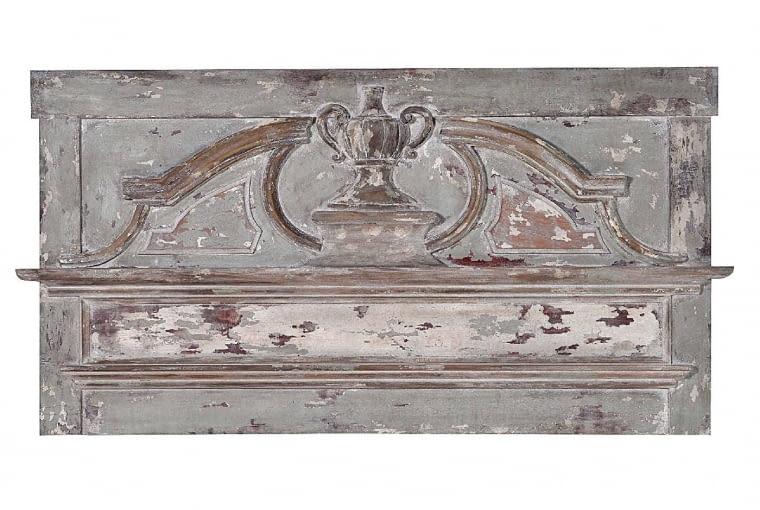 Tablica ścienna SOLANGE, drewno, 178 x 92 cm, 1990 zł, blackbearhouse.pl