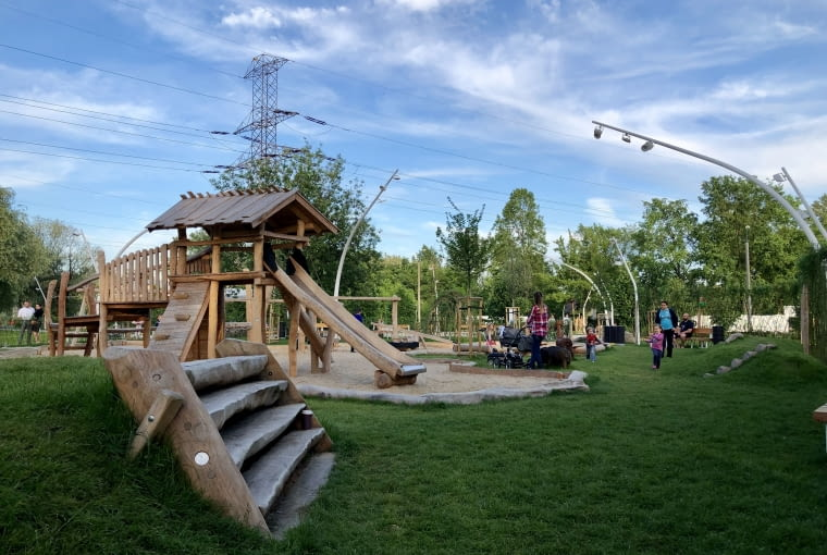 EKOpark w Ursusie. Pierwszy ekologiczny park w Warszawie.