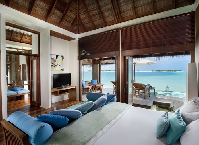 Conrad Maldives Rangali Island na Malediwach