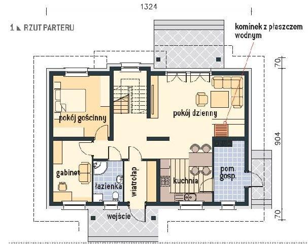 plany domu,projekt domu jednorodzinnego