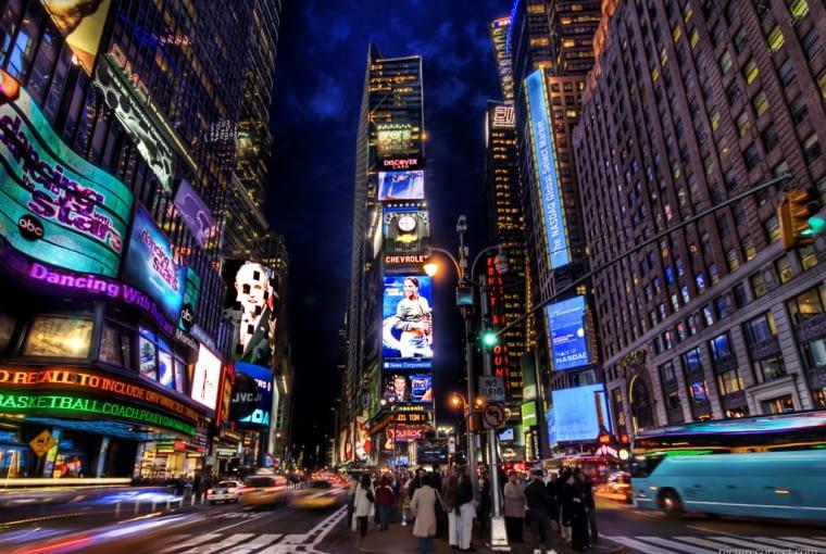 Times Square Nowy jork architektura