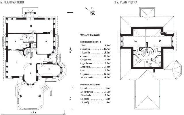 projekt domu,dom jednorodzinny,dom z poddaszem,plany domu