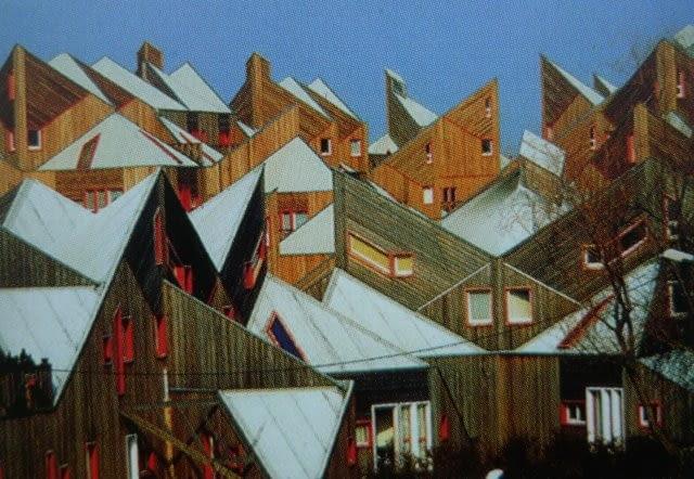 225 mieszkań komunalnych, Le Blanc Mesnil, 1996, proj. Iwona Buczkowska