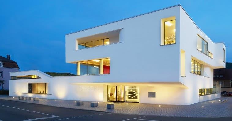Centrum Multimedialne w Oberkirch, Niemcy, proj. Wurm Wurm, 2010