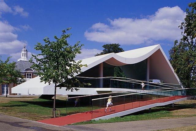 oscar niemeyer, serpentine gallery, architektura, londyn, modernizm