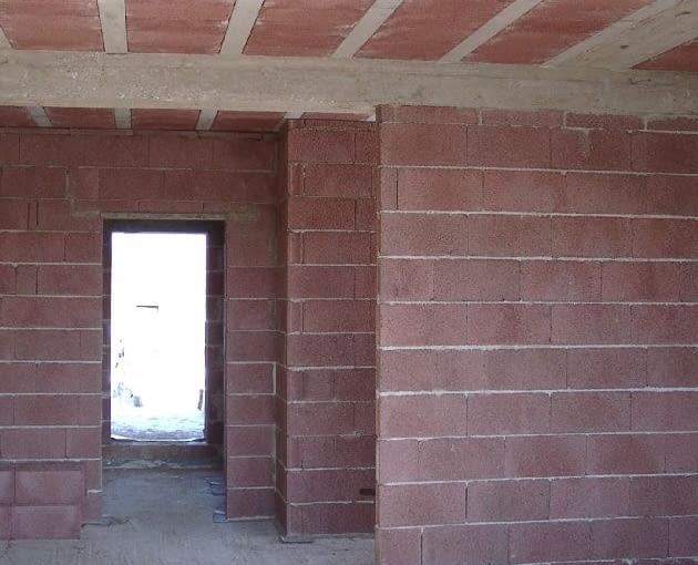 ściany działowe, keramzytobeton