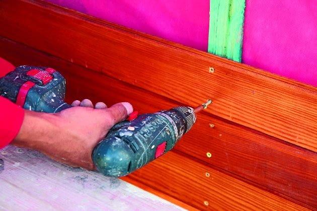 drewno na elewacji