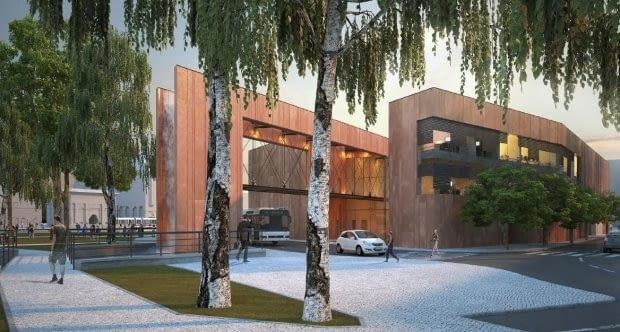 Projekt Centrum Dziedzictwa Historycznego Miasta Gdańska