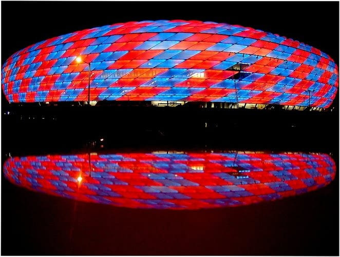Allianz Arena, proj. Herzog & de Meuron