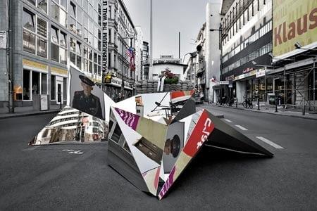coordiantion berlin, crystal city mind, rzeźba