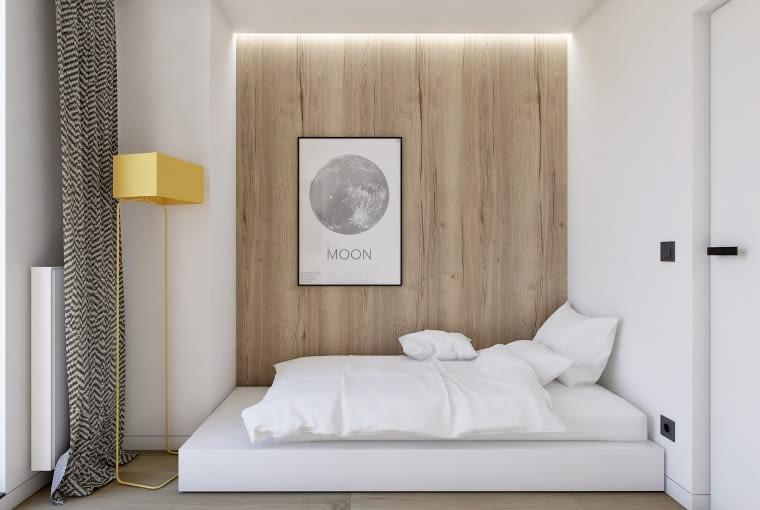 Projekt pokoju - sypialni