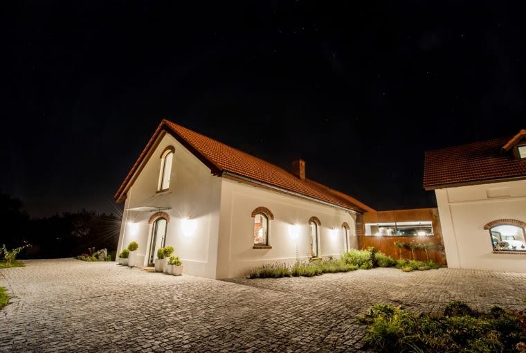 Folwark w Chorowicach po przebudowie według projektu biura: Karpiel Steindel