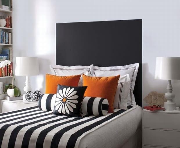 Czym Wykończyć ścianę Za łóżkiem ładny Dom