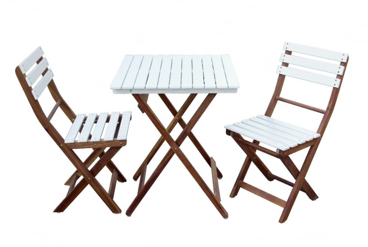 BONITA, drewno, stół (58 x 58 cm) i 2 krzesła 698,90 zł/zestaw decomania.pl