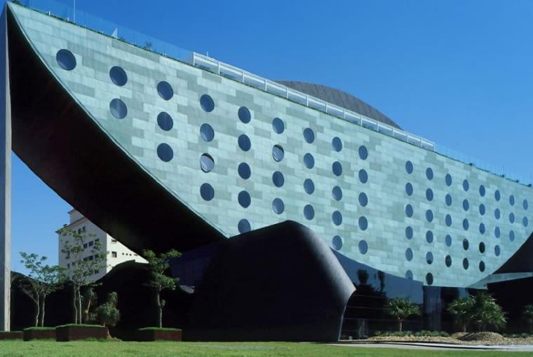 Hotel Unique, Sao Paulo, Brazylia, proj. Ruy Ohtake i Joao Armentano