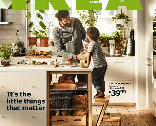 Okładka nowego katalogu IKEA 2016 z USA