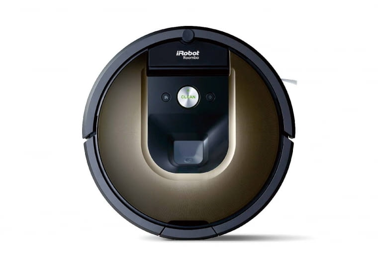 IRobot Roomba 980 ma piękny design i jest piekielnie inteligentny. Czy uwierzycie, że jeśli w trakcie sprzątania zauważy przedmiot, pod którym nie zdążył posprzątać, wróci w to miejsce? Współpracuje z aplikacją mobilną iRobot Home, dzięki której można ustalić harmonogram jego pracy na cały tydzień. Może pracować bez przerwy nawet do 2 godzin. 4499 zł, irobot.pl