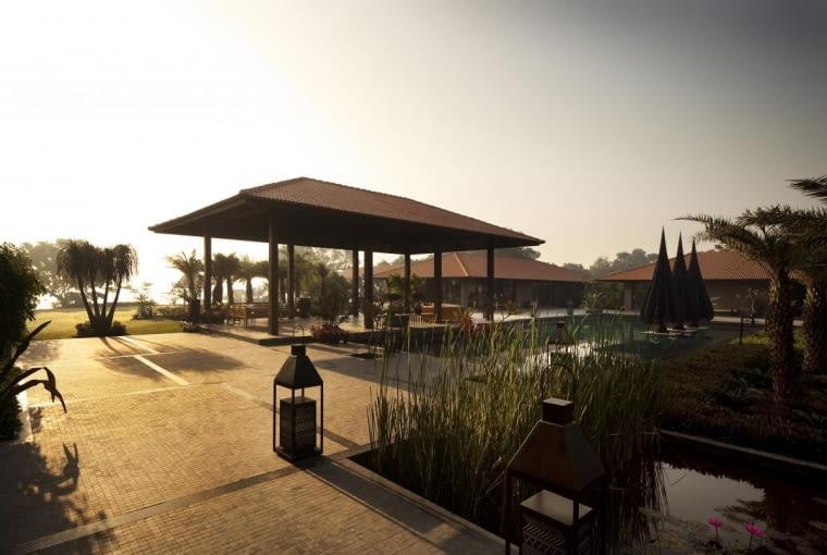 Willa w Indiach, projekt: Hiren Patel Architects